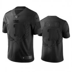 Carolina Panthers 1 Cam Newton Men Nike Black NFL MVP Limited Edition Jersey