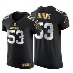 Carolina Panthers 53 Brian Burns Men Nike Black Edition Vapor Untouchable Elite NFL Jersey