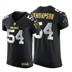 Carolina Panthers 54 Shaq Thompson Men Nike Black Edition Vapor Untouchable Elite NFL Jersey