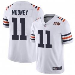 Men 11 Darnell Mooney Chicago Bears White Jersey