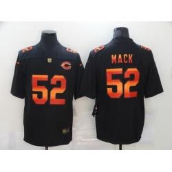 Nike Chicago Bears 52 Khalil Mack Black Colorful Fashion Limited Jersey
