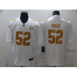 Nike Chicago Bears 52 Khalil Mack White Leopard Vapor Untouchable Limited Jersey