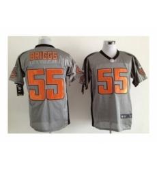 Nike Chicago Bears 55 lance briggs grey Elite shadow NFL Jersey