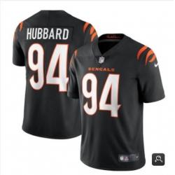 Men Cincinnati Bengals #94 Sam Hubbard 2021 Black Vapor Untouchable Limited Stitched NFL Jersey