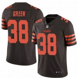 Men Cleveland Browns 38 A.J. Green Brown Rush Limited Limited Jersey