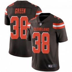 Men Cleveland Browns 38 A.J. Green Brown Vapor Limited Limited Jersey