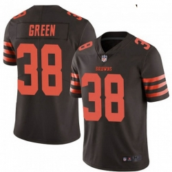 Youth Cleveland Browns 38 A.J. Green Brown Rush Limited Limited Jersey