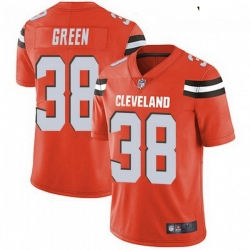 Youth Cleveland Browns 38 A.J. Green Orange Vapor Limited Limited Jersey