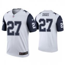 Mens Dallas Cowboys 27 Trevon Diggs Color Rush Jersey