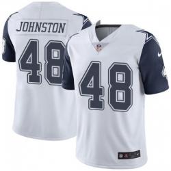 Youth Dallas Cowboys Daryl Johnston 84 Nike Rush Limited Jersey
