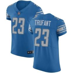 Nike Detroit Lions 23 Desmond Trufant Blue Team Color Men Stitched NFL Vapor Untouchable Elite Jersey