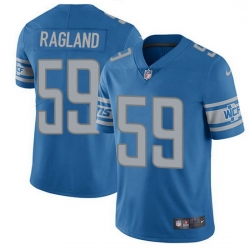 Nike Detroit Lions 59 Reggie Ragland Blue Team Color Men Stitched NFL Vapor Untouchable Limited Jersey