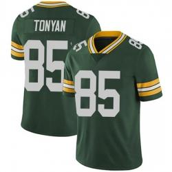 Men Green Bay Packers Robert Tonyan Green Vapor Limited Jersey