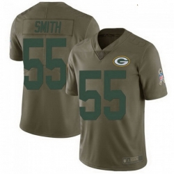 Youth Nike Green Bay Packers 55 Za'Darius Smith 2017 Salute to Service Jersey