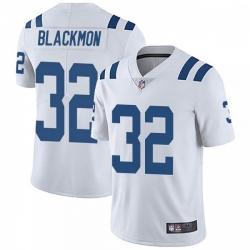Men Indianapolis Colts Julian Blackmon Vapor Untouchable Jersey White Limited
