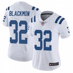 Women Indianapolis Colts Julian Blackmon Color Rush Vapor Untouchable Jersey White