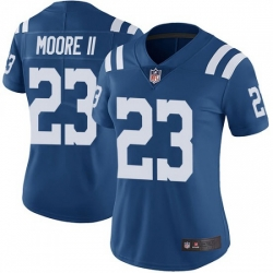 Women Indianapolis Colts Kenny Moore II Limited Color Rush Vapor Untouchable Jersey Royal