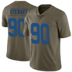 Youth Indianapolis Colts Grover Stewart 90 2017 Salute To Service NFL Limited Jersey