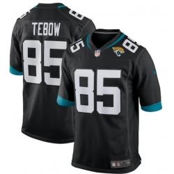 Men Jacksonville Jaguars Tim Tebow Nike Black Alternate Game Jersey