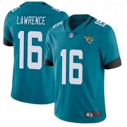 Men Jacksonville Jaguars Trevor Lawrence Teal 2021 Draft Jersey