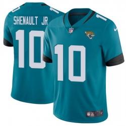 Nike Jaguars 10 Laviska Shenault Jr  Teal Green Alternate Men Stitched NFL Vapor Untouchable Limited Jersey