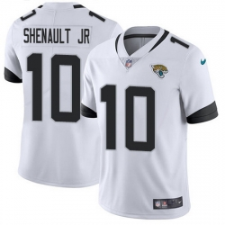 Nike Jaguars 10 Laviska Shenault Jr  White Men Stitched NFL Vapor Untouchable Limited Jersey