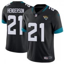 Nike Jaguars 21 C J  Henderson Black Team Color Men Stitched NFL Vapor Untouchable Limited Jersey