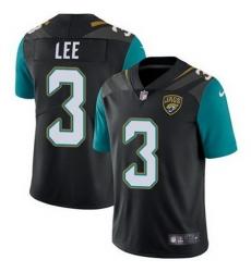 Nike Jaguars #3 Tanner Lee Black Alternate Mens Stitched NFL Vapor Untouchable Limited Jersey