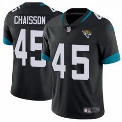 Nike Jaguars 45 K 27Lavon Chaisson Black Team Color Men Stitched NFL Vapor Untouchable Limited Jersey