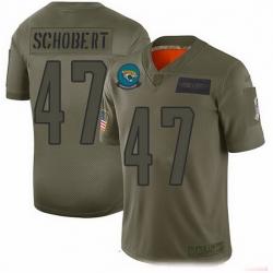Nike Jaguars 47 Joe Schobert Camo Men Stitched NFL Limited 2019 Salute To Service Jersey