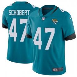 Nike Jaguars 47 Joe Schobert Teal Green Alternate Men Stitched NFL Vapor Untouchable Limited Jersey