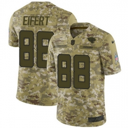 Nike Jaguars 88 Tyler Eifert Camo Men Stitched NFL Limited 2018 Salute To Service Jersey