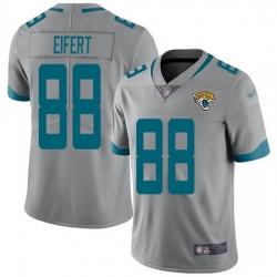 Nike Jaguars 88 Tyler Eifert Silver Men Stitched NFL Limited Inverted Legend Jersey