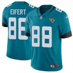 Nike Jaguars 88 Tyler Eifert Teal Green Alternate Men Stitched NFL Vapor Untouchable Limited Jersey