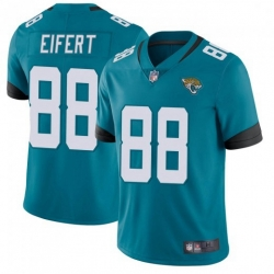 Youth Nike Jaguars 88 Tyler Eifert Vapor Untouchable Limited Jersey Teal