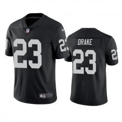 Men Las Vegas Raiders 23 Kenyan Drake Black Vapor Limited Nike Jersey