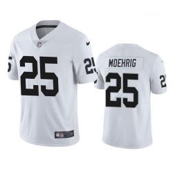 Men Las Vegas Raiders 25 Trevon Moehrig White Vapor Limited Nike Jersey