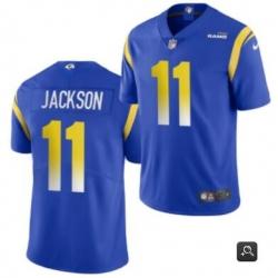 Men Los Angeles Rams #11 DeSean Jackson 2020 Blue Vapor Untouchable Limited Stitched NFL Jersey