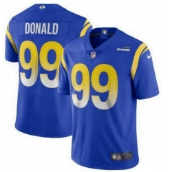 Youth Nike Los Angeles Rams 99 Aaron Donald Royal 2020 New Vapor Untouchable Limited Jersey
