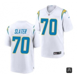 Men Los Angeles Chargers #70 Rashawn Slater White 2021 Vapor Untouchable Limited Stitched NFL Jersey