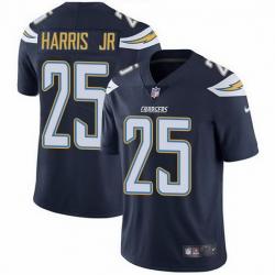 Nike Chargers 25 Chris Harris Jr Navy Blue Team Color Men Stitched NFL Vapor Untouchable Limited Jersey