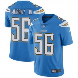 Nike Chargers 56 Kenneth Murray Jr Electric Blue Alternate Men Stitched NFL Vapor Untouchable Limited Jersey