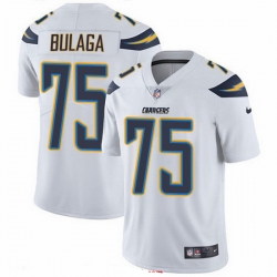 Nike Chargers 75 Bryan Bulaga White Men Stitched NFL Vapor Untouchable Limited Jersey
