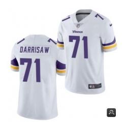 Men Minnesota Vikings 71 Christian Darrisaw White 2021 Vapor Untouchable Limited Stitched NFL Jersey
