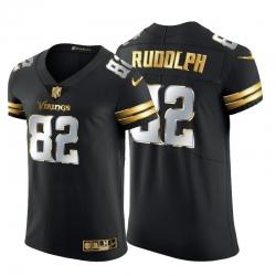 Minnesota Vikings 82 Kyle Rudolph Men Nike Black Edition Vapor Untouchable Elite NFL Jersey