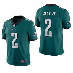 Men Philadelphia Eagles 2 Darius Slay Jr Midnight Green Vapor Limited Jersey