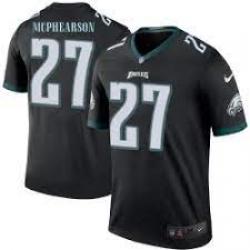 Men Philadelphia Eagles Zech McPhearson 27 Vapor Limited Jersey Black