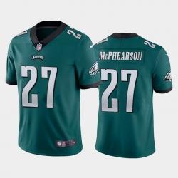 Men Philadelphia Eagles Zech McPhearson 27 Vapor Limited Jersey Green