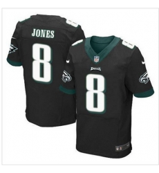 NEW Philadelphia Eagles #8 Donnie Jones Black Alternate Mens Stitched NFL New Elite Jersey