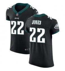 Nike Eagles #22 Sidney Jones Black Alternate Mens Stitched NFL Vapor Untouchable Elite Jersey